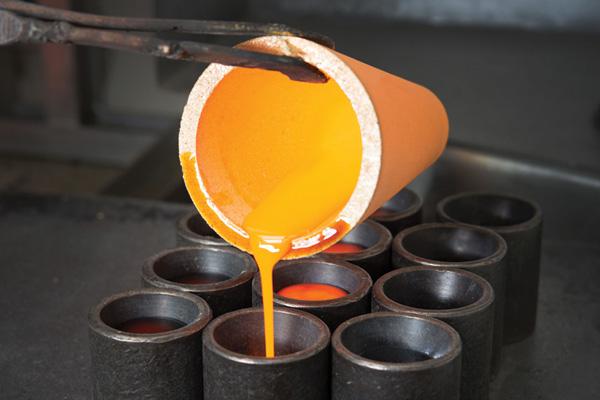 refining of precious metals